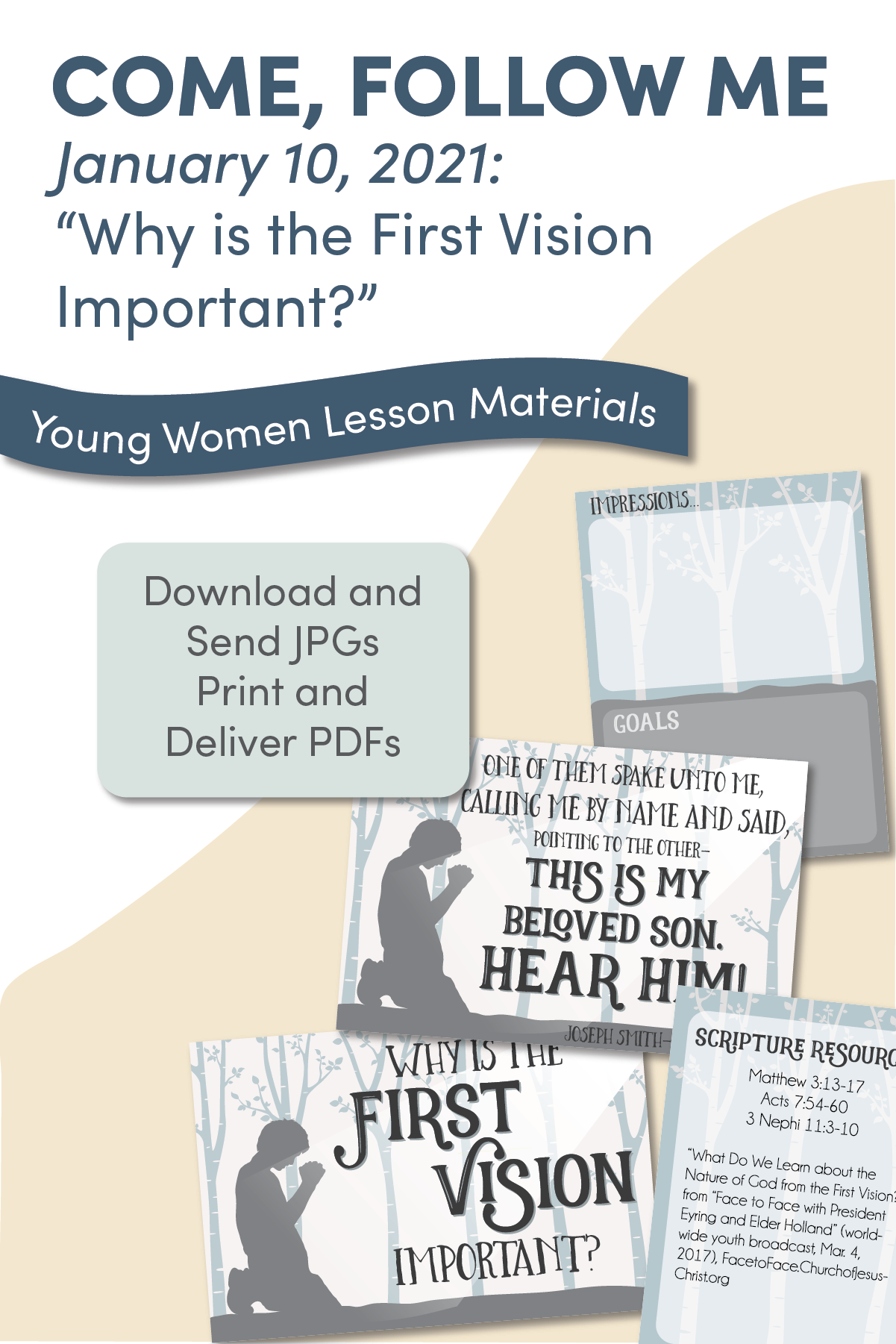 Young Women Doctrinal Topic January 10: