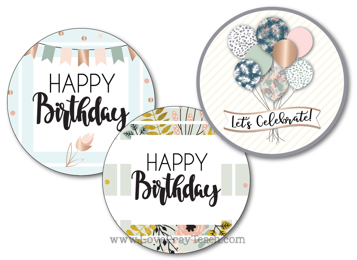 BirthdayTags